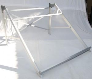Aluminium stand