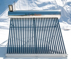 NS-300 Evacuated tube Solar Hot Water System
